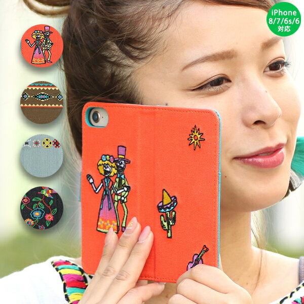 刺繍iphoneケース