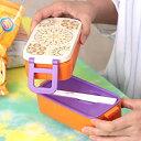 ランチボックス お弁当箱 2段 箸付き 遠足 ピクニック おしゃれ かわいい 電子レンジ エスニック...
