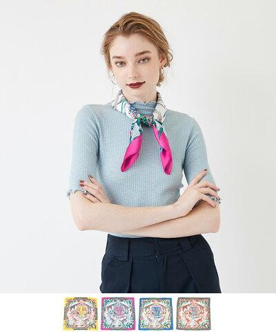 アニマルモチーフスカーフ