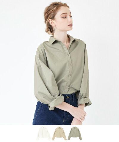 ボリューム袖シャツ