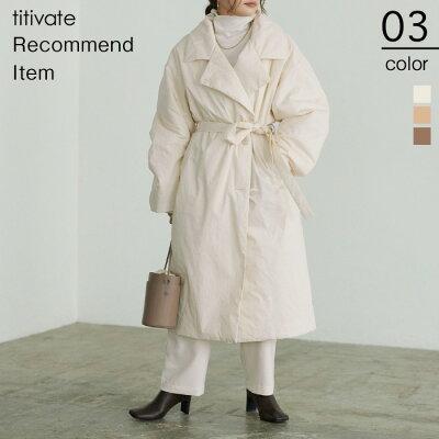 パデット中綿コート