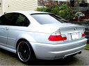 FYRALIP BMW E46 E46 M3 セダン/クーペ純正色塗装済 ウレタン製トランクスポイラー/チタンシルバー#354/3シリーズ/エアロパーツ/リアリップスポイラー 送料無料【___OCS】