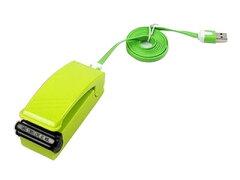 【GS】USB充電式 携帯用小型 パワフル ハンディシーラー 密封シーラー#グリーン【R.Ma…