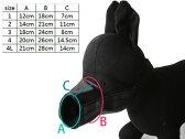 ペット 犬 無駄吠え・拾い食い・噛み付き防止 しつけ道具 #ブラック/サイズ1【S.Pack】