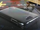 【新品】SamsungGALAXYNoteIISC-02Eクリアハードケース