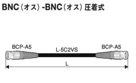 カナレ 75ΩBNCケーブル 15m D5C15A-S