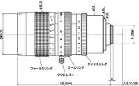 SPACECOM(スペース)交換レンズCCTV交換レンズCマウント・レンズG75-1.8