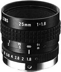 """CCTVレンズ RICOH(リコー) FL-BC2518-VG 25mm 1""""型Cマウント PENTAX(ペンタックス)旧型番(B2518)"""
