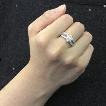 【送料無料】PT900ダイヤモンドリングD1.00