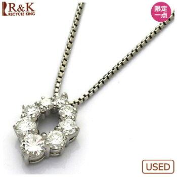 PT900/PT850ダイヤモンドネックレスダイヤプラチナ