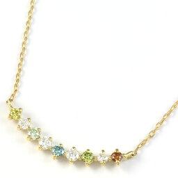 【送料無料】【新品】K18 ダイヤモンドペンダントネックレス D0.15 18金 おしゃれ レディース 女性 かわいい 可愛い オシャレ