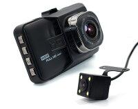 進化版 ドライブレコーダー 前後 Wカメラ搭載 送料無料 IPS液晶 フルHD 高画質 1080P 120度 Gセンサー 日本語説明書