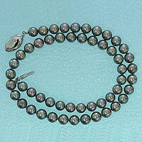 黒真珠ネックレス(7-7.5)b-201