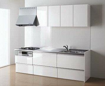 【ラクエラ】 《TKF》 クリナップ システムキッチン スライド収納パッケージプラン I 型 255cm SUシンク ωδ1:住宅設備機器 tkfront