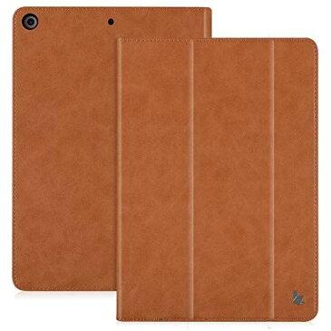 Jisoncase iPad 10.2ケース 革 第8世代 2020モデル 第7世代 2019モデル 兼用 アイパッド 10.2 ケース オートスリープ スリム 薄型 スタンド機能 マグネット 耐摩擦 耐衝撃 手作り ハンドメイド 【3-4日配達】(ブラウンJS-IPD-07M20) iPad10.2(第7世代)