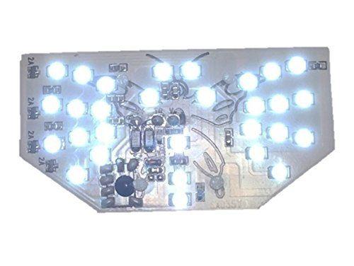 (nakira) 羽ばたく テールランプ フェアリー風 汎用 LED S25ダブル球 BAY15D バリオス CB400F GS400 など 447 (白 ホワイト) ホワイト 白画像