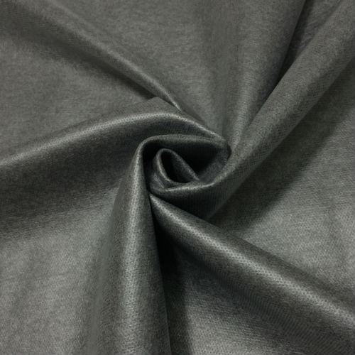 【生地・布】グレー ウールニット ストレッチ ラミネート加工 国産 広幅 ジャケット スカート ワンピース パンツ 資材 手芸 小物 雑貨 インテリア 激安セール (h-1576)