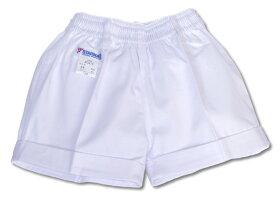 【体操服】女子白短パン