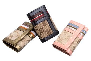 3色から選べる 本牛革 防水帆布 レディース メンズ 兼用 キーケース 6連キーケース 札入れ 有り カード入れ 有り キーケース レディースキーケース メンズキーケース