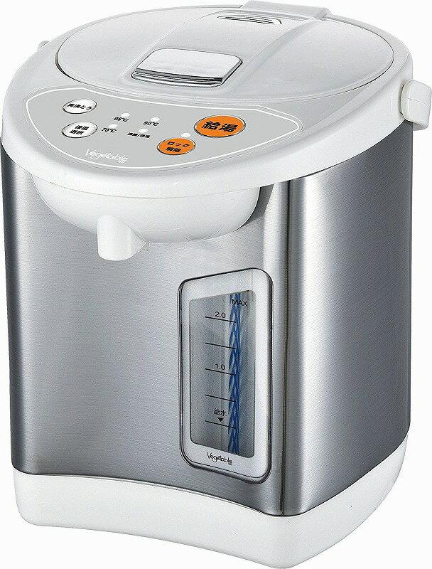 ベジタブル 電動給湯ポット 2.2L GD-UP220