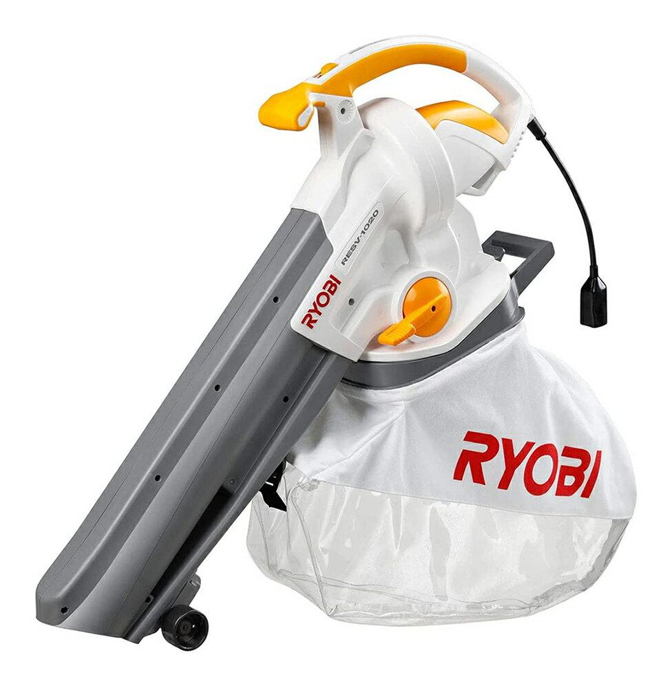 RYOBI リョービ 家庭用 ブロワバキューム 吹き寄せ/吸い込み RESV-1020
