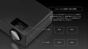 【新品】brエアリアbrBEAMPLAYbrLEDプロジェクターbr暗室向きbr最大120インチ相当