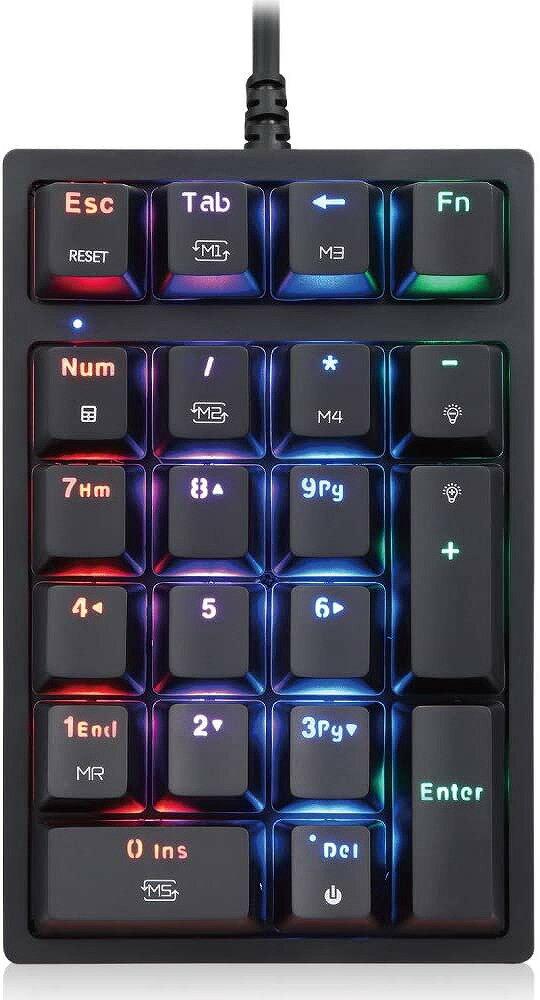エアリア 片手用ゲーミングキーボード