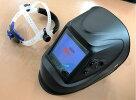 液晶自動遮光溶接面高級タイプTOAN-9900黒(高級パネル、4センサー、特大!!視野)新商品1本