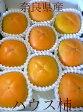 奈良産 ハウス柿(かき)3Lサイズ 9個入り化粧箱特有の風味を持つ甘い柿です。「種無しカキ 平核無し柿」