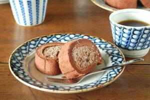 お料理が引き立つ、すずらんの絵柄が素敵なリム付皿♪和菓子や洋菓子などのデザート皿としても...