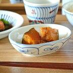 【砥部焼梅山窯】なずなの舟型小鉢