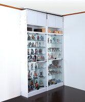 コレクションケースフィギュアラックワイド幅83cm奥行39cmハイタイプJAJANコレクションラック送料無料