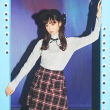 【chacelシャンセル】LikeADollカタログtoccocloset(トッコクローゼット)Collection中村里砂さんはグレー着用
