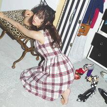 【solfunソルファン】LikeADollカタログtoccocloset(トッコクローゼット)Collection中村里砂さんはオフホワイト着用