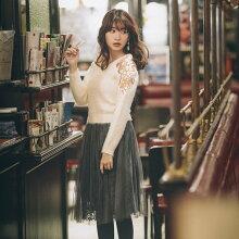 【nalroナルロ】NewatToccoCloset(トッコクローゼット)カタログRay10月号P161にて白石麻衣さんはアイスグレー着用