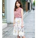 【filisa フィリーサ】tocco closet(トッコクローゼット) Collection宇垣美里さんはオフホワイト着用