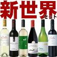 新世界6本セット アルゼンチン&南アフリカ&チリ&オーストラリア ワイン6本セット(赤3本 白3本)【送料無料S】【飲み比べS】【テイスティングS】【ミックスS】【セレクトS】【楽ギフ_のし宛書】【あす楽】【RCP】