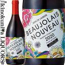 ジャン・ド・ロレール/ボージョレー・ヌーヴォー [2020] 赤ワイン ライトボディ 750ml/フランス ブルゴーニュ地方 AOCボジョレー ボジョレー・ヌーボー 新酒 2020年11月19日解禁 Jean de Laurere Beaujolais Nouveau