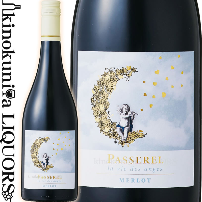 ワイン, 赤ワイン  2018 750ml I.G.P. Caves Languedoc-Roussillon Passerel Merlot (2017) 2019 MTBS
