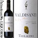 トライーニ / ヴァルディサンティ [2011] 赤ワイン フルボディ 750ml / イタリア トスカーナ キャンティ クラッシコ I.G.T. トスカーナ ロッソ TOLAINI VALDISANTI ガンベロ ロッソ2016 赤い2ビッキエーリ ワイン アドヴォケイト 91点