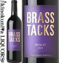 ブラス タックス / メルロー [2012] 赤ワイン ミディアムボディ 750ml / アメリカ カリフォルニア セントラルコースト BRASS TACKS MERLOT