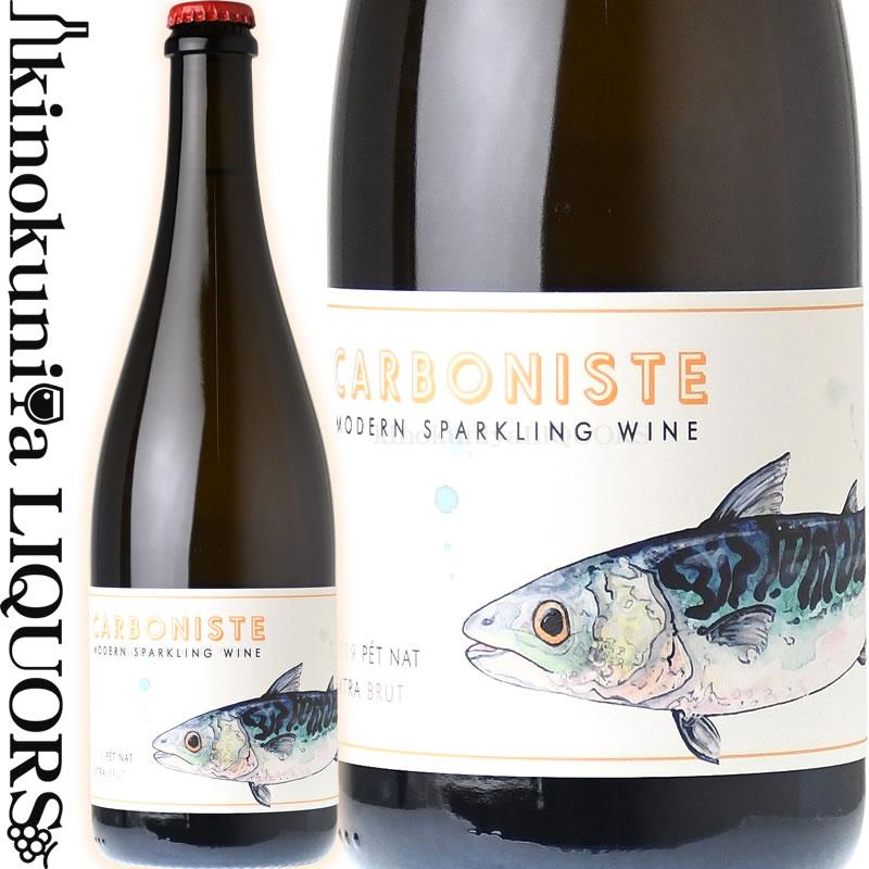 ワイン, スパークリングワイン・シャンパン  2019 750ml Person Wine Company CARBONISTE Mackerel Extra Brut Pet Nat Pinot Grigio