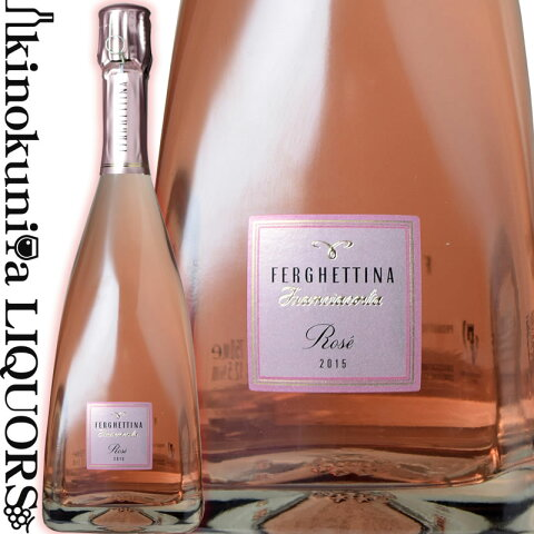 フェルゲッティーナ/フランチャコルタ ロゼ ブリュット [2015] スパークリングワイン ロゼ 辛口 750ml/イタリア ロンバルディア州 フランチャコルタD.O.C.G./Azienda Agricola Ferghettina Franciacorta Rose Brut