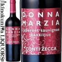 ドンナ・マルツィア カベルネ・ソーヴィニヨン オーク樽熟成 [2017] 赤ワイン フルボディ 750ml イタリア プーリア サレント サレントI.G.T./コンティ・ゼッカ Azienda Agricola Conti Zecca Donna Marzia Primitivo Barrique