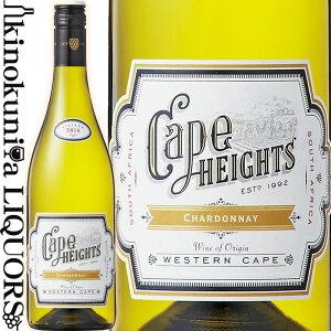ケープ・ハイツ シャルドネ [2018] 白ワイン 辛口 750ml / 南アフリカ ウエスタン・ケープ W.O.ウエスタン・ケープ ブティノ・サウスアフリカ Boutinot Ltd. Cape Heights Chardonnay (2019)カタビヌム・ワールド・ワイン&スピリッツ・コンペティション 2020 銀賞