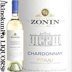 ゾーニン / クラシチ シャルドネ フリウリ DOC [2019] 白ワイン 辛口 750ml / イタリア フリウリ-ヴェネツィア ジューリア DOCフリウリ / Zonin Classici Chardonnay Friuli DOC