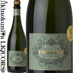 エミリアーナ・オーガニック・スパークリング・ワイン ブリュット [NV] スパークリングワイン 辛口 白泡 750ml / チリ アコンカグア ヴァレ・カサブランカ / Emiliana Organic Sparkling Wine Brut Valle Casablanca シャンパーニュ方式