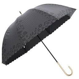 コーティングヒートカット晴雨兼用長傘 (ブラック)