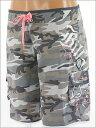 7新作!【ビラボン】キュートな迷彩セットUPシリーズ【BILLABONG】WOMEN'Sサーフパンツ《BLACK...