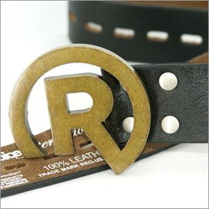 【REALBVOICE】リアルビーボイスベルト(レザー)《ブラウン》2サイズありリアルのデニムにはコレ!